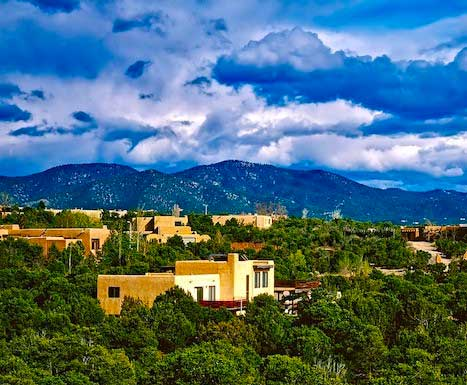 Santa Fe offers an ethereal place for reflection